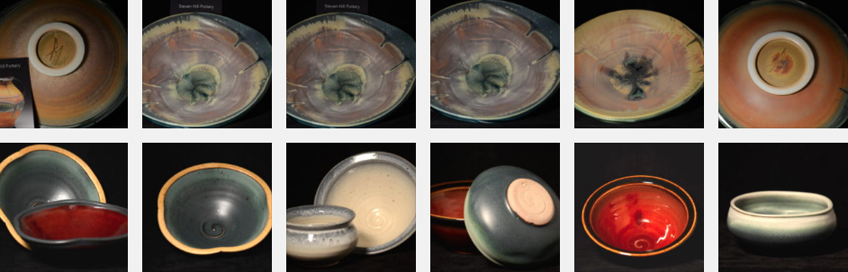 Bowls from Steven Hill and Michael Smith