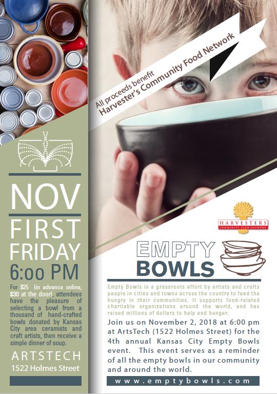 2018 Empty Bowls Flyer