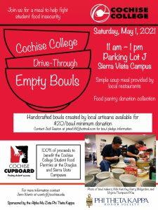 Cochise College Empty Bowls