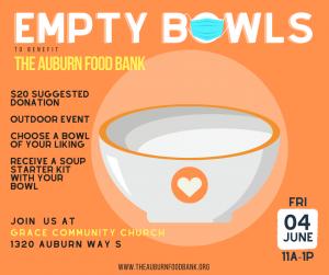 Auburn, WA 2021 Empty Bowls