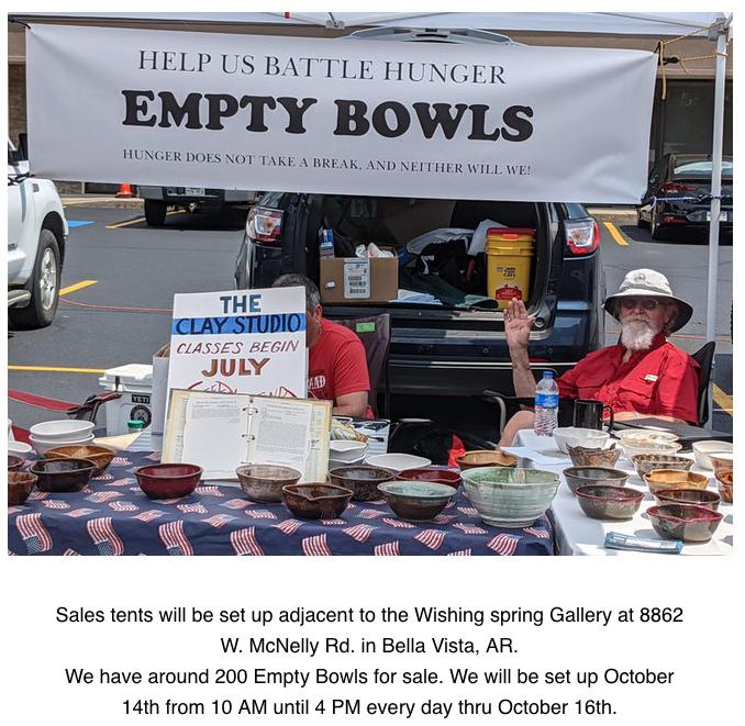 Bella Vista AR – Empty Bowls