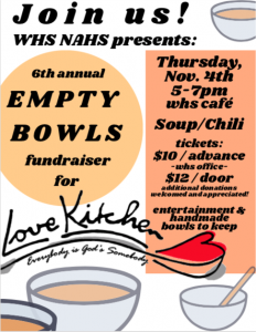 Empty Bowls – Knoxville TN